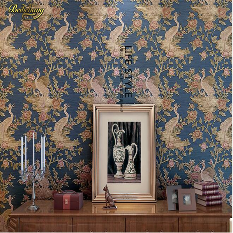 beibehang bedroom living room TV backdrop environmental protection 3D stereoscopic deep embossed high-grade non-woven wallpaper beibehang wallpaper high grade environmental protection non woven wallpaper girl boy room room striped wall paper car children