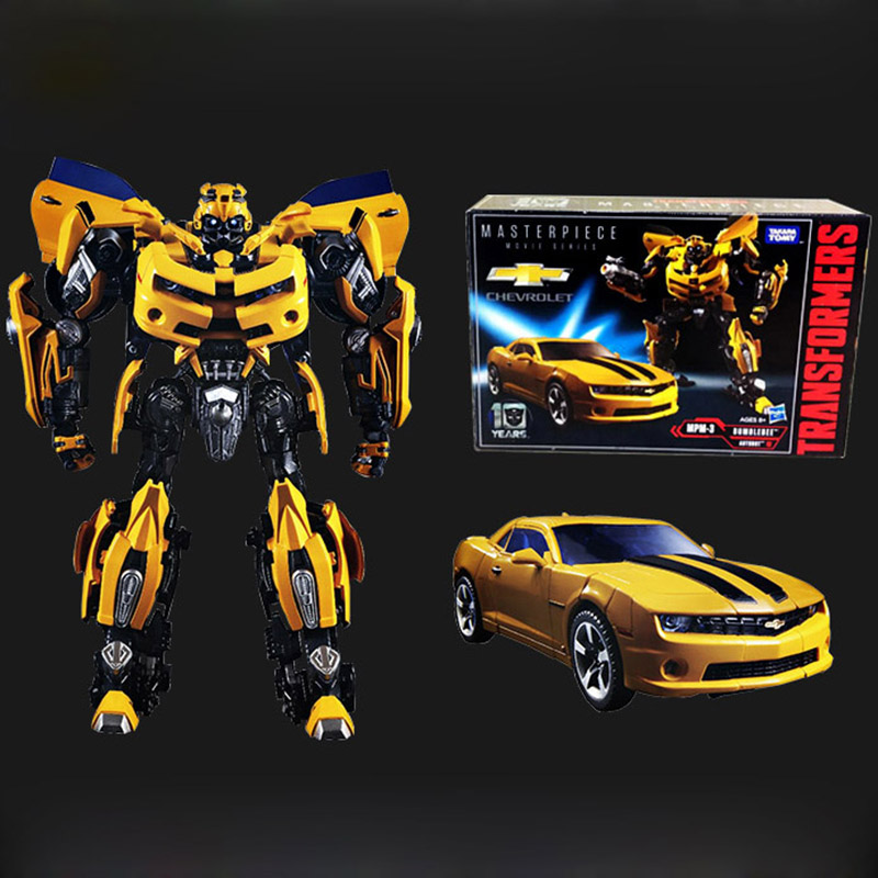 Hasbro version of the transformers movie mpm03 bumblebee robot boy toy boy. transformers маска bumblebee