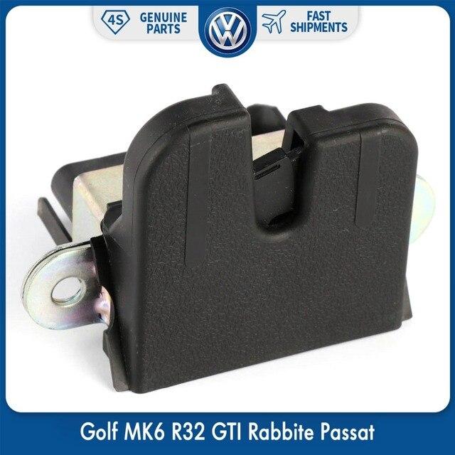 OemオリジナルーリアトランクトランクリッドロックvwフォルクスワーゲンゴルフMK6 R32 gti rabbite passatバリアント5KD 827 505 9B9 5K0827505A