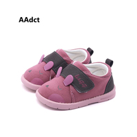 AAdct new Autumn Lovely Cartoon girls shoes soft sole Comfortable First Walkers Infant baby shoes High quality boys shoes