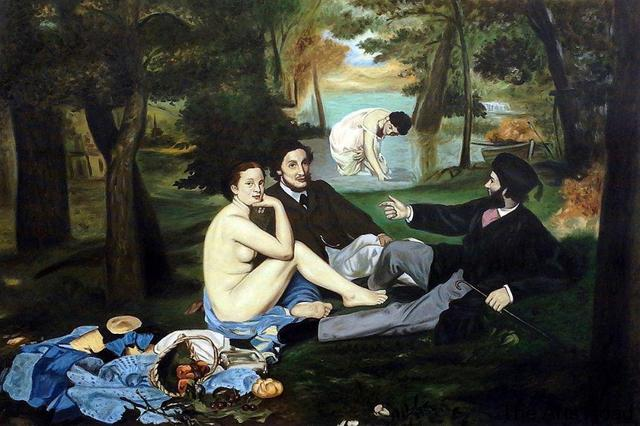Luncheon on the Grass, 1863 by Edouard Manet Painting