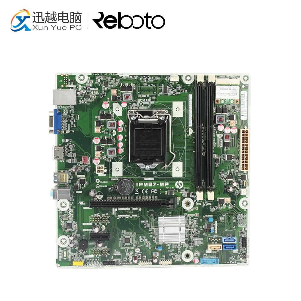 For HP IPM87-MP Desktop Motherboard 707825-003 732239-503 intel H87 LGA 1150 DDR3 h87 plus 1150 pin motherboard large board support 4790k