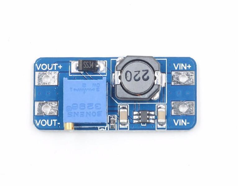 MT3608 DC-DC Step Up Converter Booster Netzteil Modul Boost-Step-up Board MAX ausgang 28 V 2A Für arduino