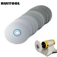 RUITOOL 6/150mm 12.7mm Grinding Wheel 60 3000 Grit Diamond Cutting Disc Polishing Wheels Abrasive Rotary Tool