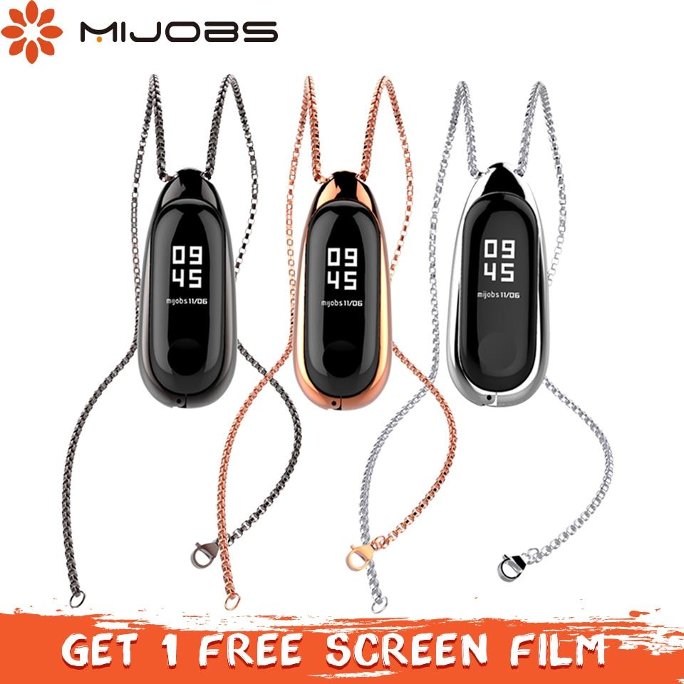 Unterhaltungselektronik Pulseras Xiaomi Mi Band Accesorios Ersatz Anhänger Halskette Mit Schwarz Lanyard Und 6 Farben Für Miband Oder Mi 1 S Smartband Intelligente Elektronik