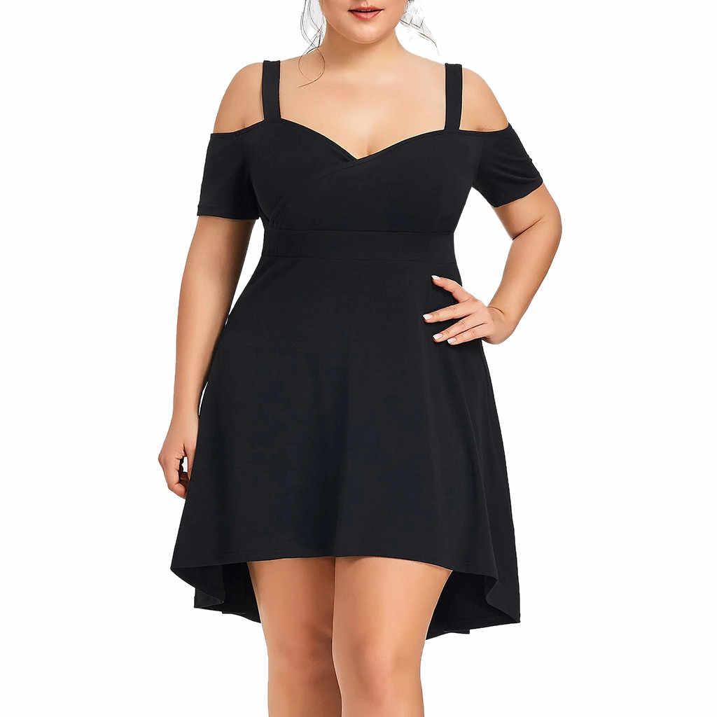 Женское вечернее платье с v образным вырезом JAYCOSIN однотонное короткими рукавами