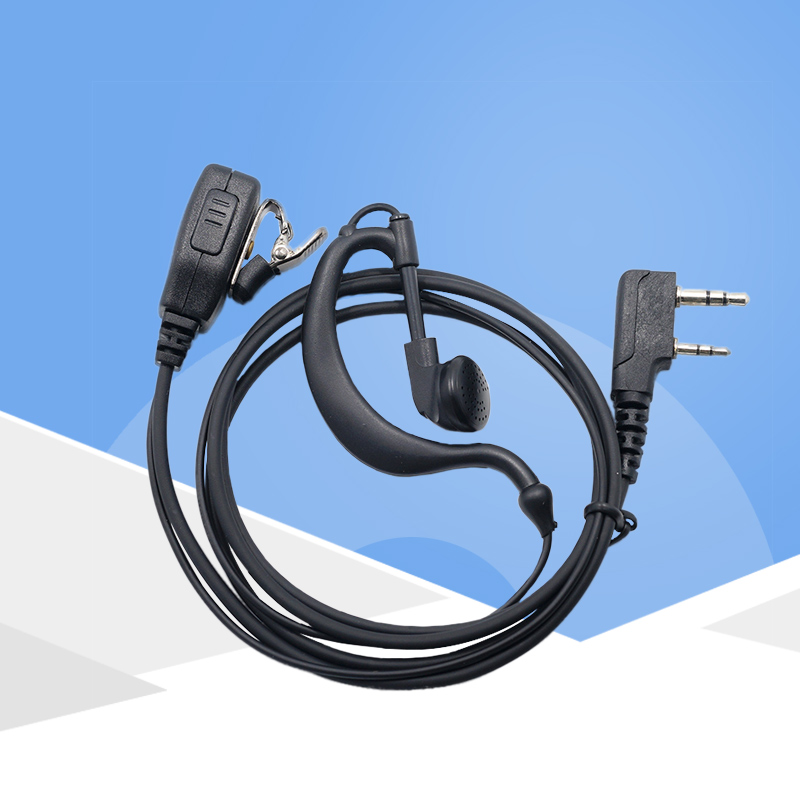KSUN Interphone Headphones HD Sound Universal Ear Plug Ear K-Head Two Way Radio General Headphones