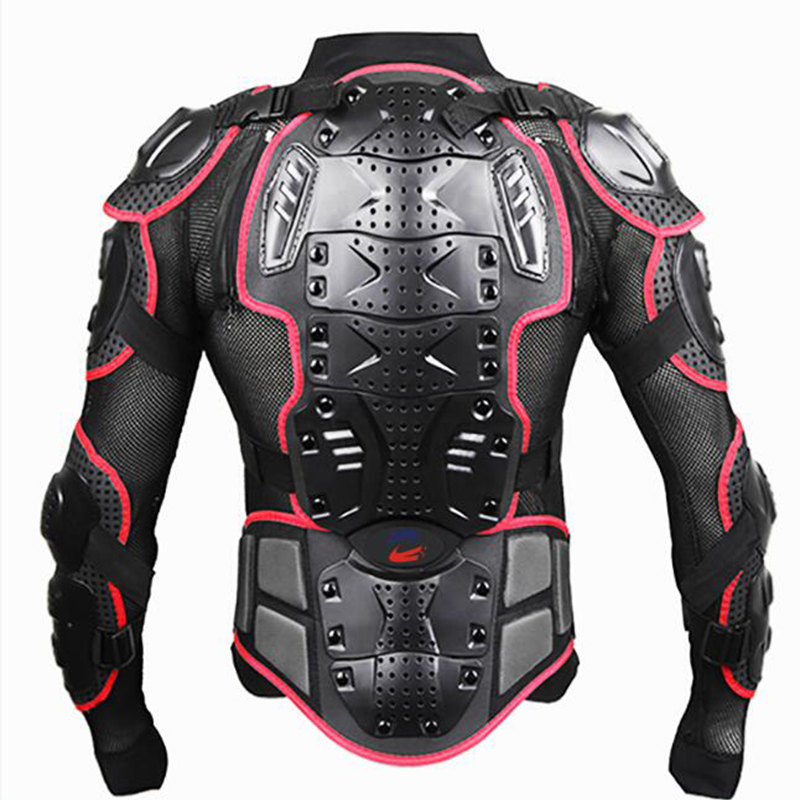 UPBIKE Motorcycle Jacket Armor Protection Motocross Clothing Protector Motorbike Moto Motor Bike Spine Chest Protector Gear