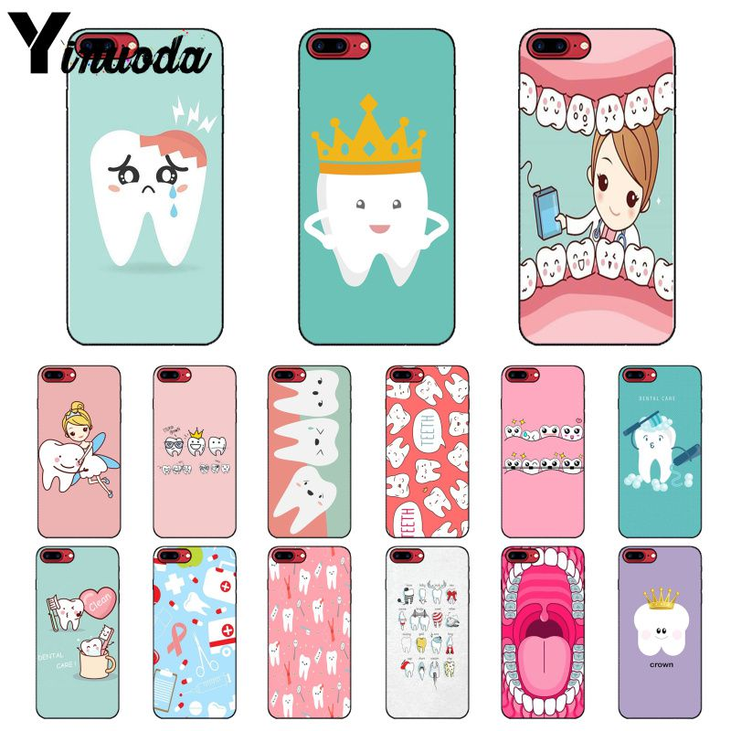 Cellphones & Telecommunications Half-wrapped Case Hearty Maiyaca Nurse Doctor Dentist Stethoscope Tooth Injections Novelty Phone Case For Apple Iphone 8 7 6 6s Plus X Xs Max 5 5s Se Xr Be Novel In Design