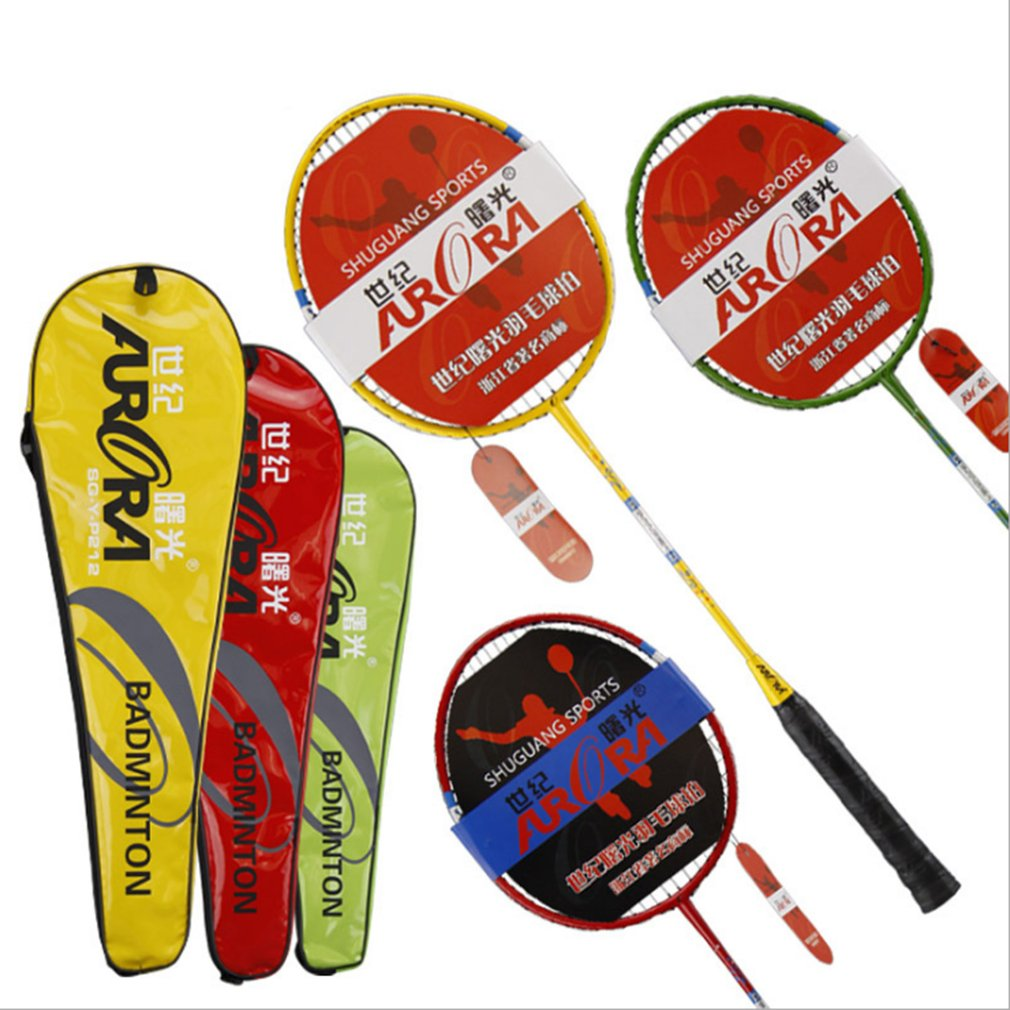 A Pair/SET Professional Carbon Aluminum Badminton Racket Lightweight 3D Anti-Slip Handle Sport Competition Badminton Racquet