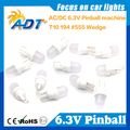 Package of 100 - Warm White Super Bright Frosted Pinball LED Lights