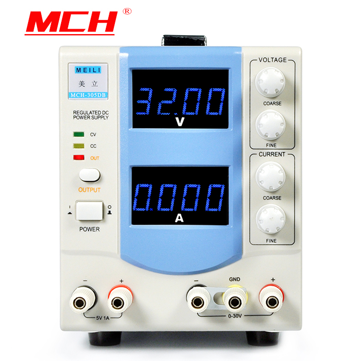 MCH-305DB four-digit display adjustable DC power supply 30V5A precision laboratory power supplies four digit display rps3003c 2 adjustable dc power supply 30v 3a linear power supply repair