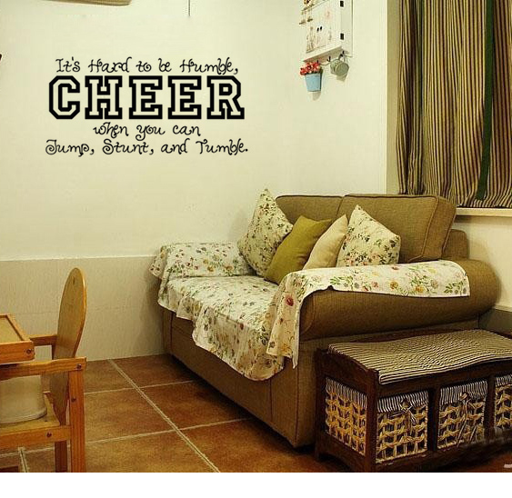 Free shipping: Its Hard To Be Humble ,Cheer ,When You Can Jump ...