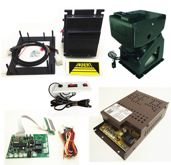 1 kit for Malayia currency multi banknotes bill acceptor with board 220V hopper for coin changer machine