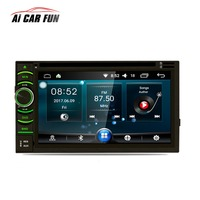 YT AR6116 Car DVD Player 2Din 6.5 Android 6.0.1 Capacitive HD Touch Screen Quad Core GPS Navigation Bluetooth WIFI SD/USB/FM/AM