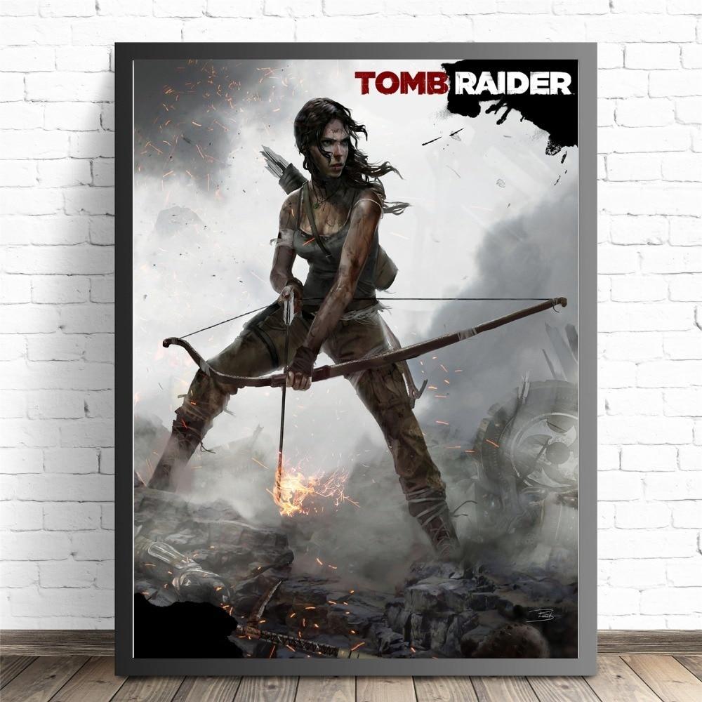 tomb raider 2 game poster