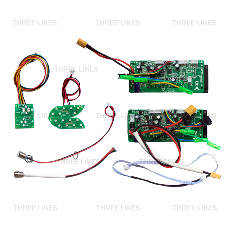 Prix pour Hoverboard Double Système De Contrôle La Carte Mère PCBA Circuit Carte Mère 2 LED pour 2 Roues Auto Équilibrage Électrique Scooter Partie