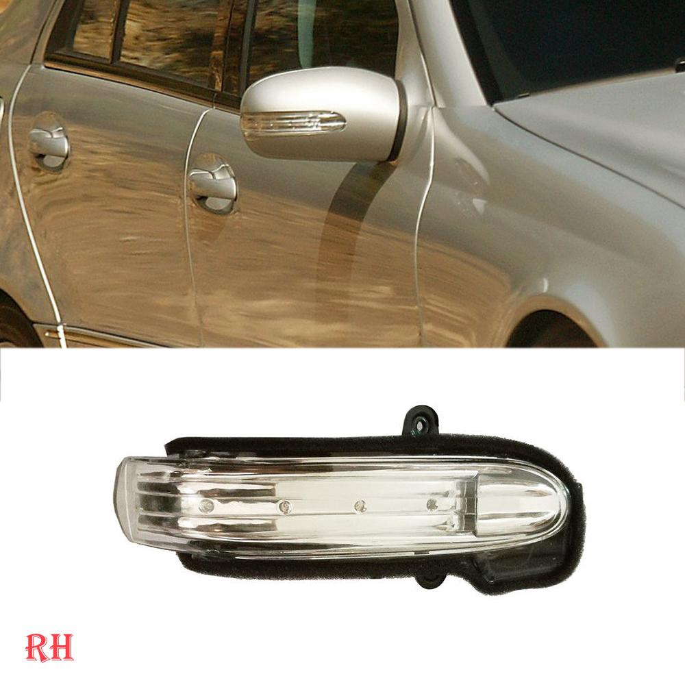 RH For MERCEDES 04-07 W203 Door Wing Mirror Turn Signal Side LED Light Blub
