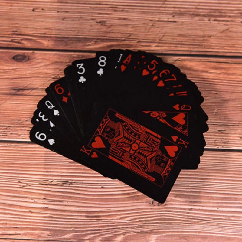 1 Set/54 Uds de plástico a prueba de agua de PVC colección de naipes Poker cartas para juegos de mesa FK88 ATUCOHO Store, nuevo organizador de cocina portátil, estantes de almacenamiento para el hogar, caja de almacenamiento de plástico, colgador de pared, bolsas de basura para baño, estantes