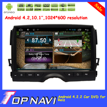 "Newly  10.1"" Pure Android 4.2 car dvd radio player for Reiz with GPS Free Map Radio BT Capacitive Touch Screen"