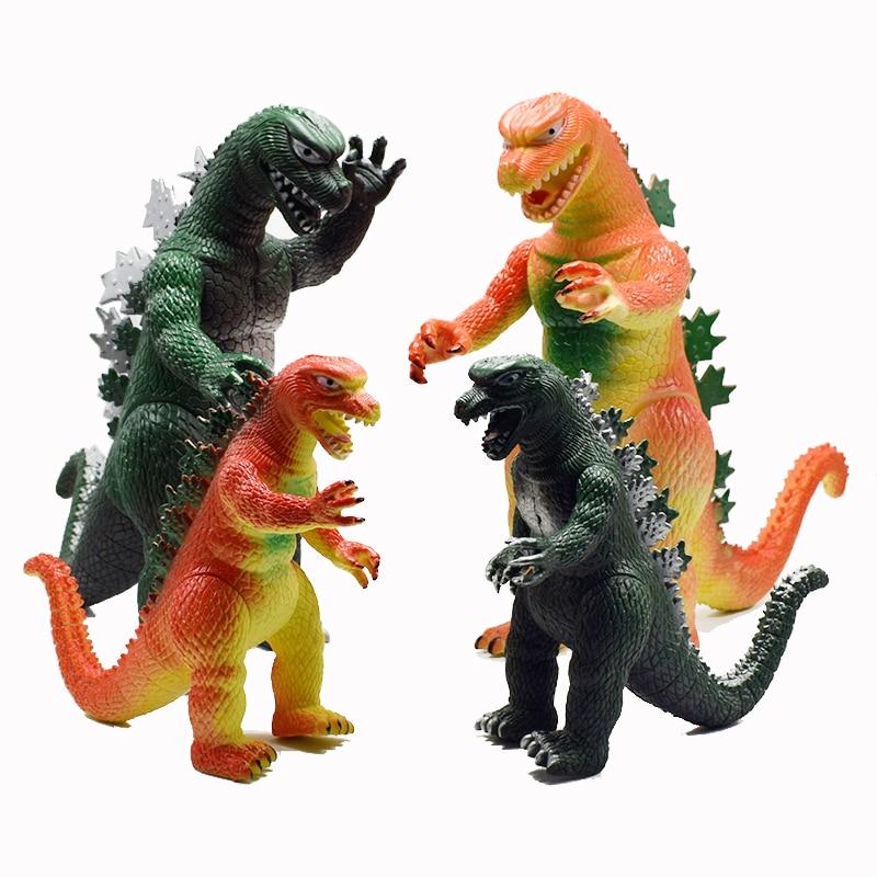цена на 30CM PVC lifelike Space Godzilla Monster Dinosaur Model Toy ction Figures Boy Toys Cartoon Collection Toys Kids Birthday Gifts