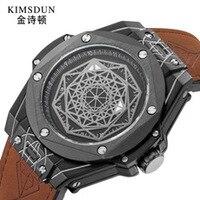 Мужской ремешок для часов didun часы Лидирующий бренд Buxury автоматические механические часы для мужчин модные бизнес часы противоударный 30 м в