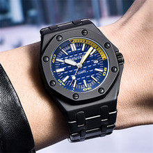 2018 BENYAR Top Brand Men Stainless Steel Watch Men's Fashion Business Quartz XFCS Male Wristwatch Relogio Masculino Clock +Box