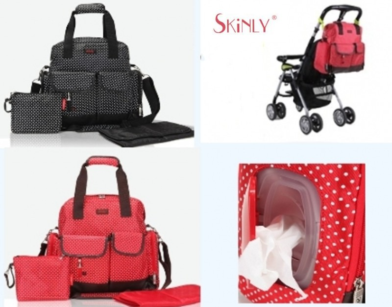 ФОТО Free shipping Fashion Backpack Handbag Mummy Baby Diaper Nappy Bag For Mom,Stroller Multifunctional Bags Maternity Mother,Skinly