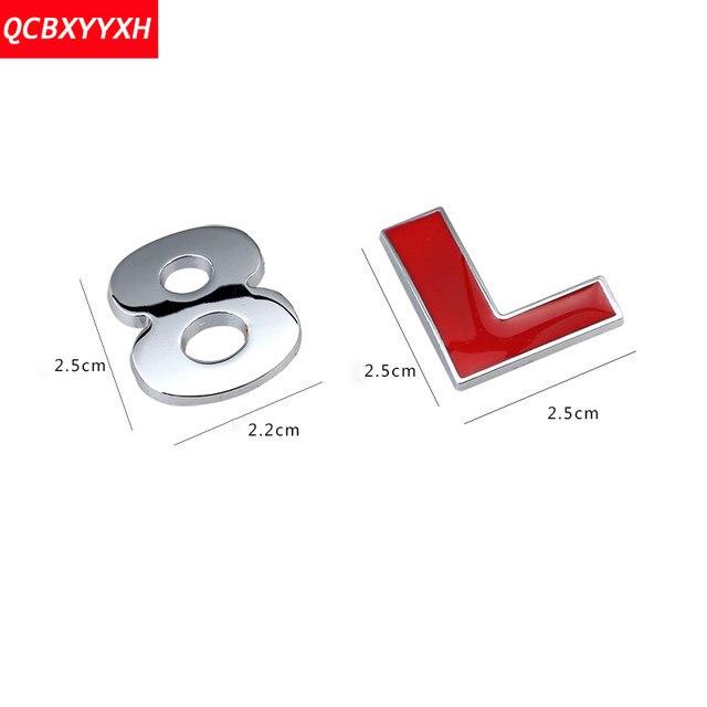 Online Shop 3d Abs Car Diy Alphabet Letter Number Symbol Emblem