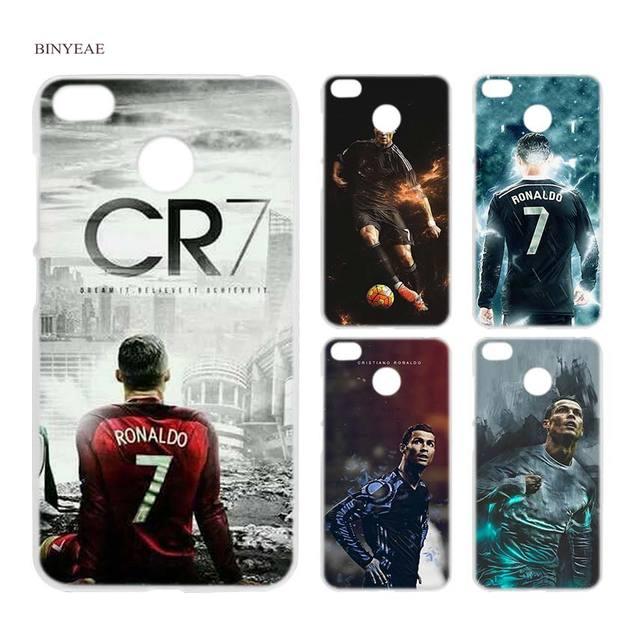 BINYEAE cr7 cristiano ronaldo Clear Case Cover Shell for Xiaomi Redmi Note  MI A1 4X 5 5A 4 4A 3 Plus 5X 94c12b6b5cc7