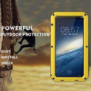 Image 5 - Heavy Duty กันน้ำกันกระแทกอลูมิเนียมสำหรับ iPhone XS Max XR X 10 7 8 Plus 6 6 s 5 5 s SE ซิลิโคนไฮบริดฝาครอบ