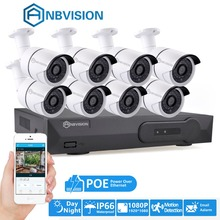 4/8CH 1080P HD POE Net NVR CCTV System 4/6/8pcs 2MP Outdoor IP66 IP Camera P2P Security Surveillance Kit Motion Detect
