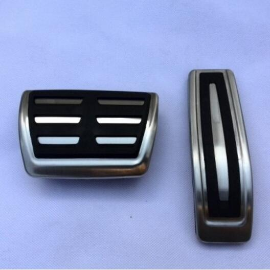 Car styling DSG Sport Fuel Brake Footrest Pedal AT case For Audi Q7 Porsche Cayenne VW Touareg,auto <font><b>accessories</b></font>