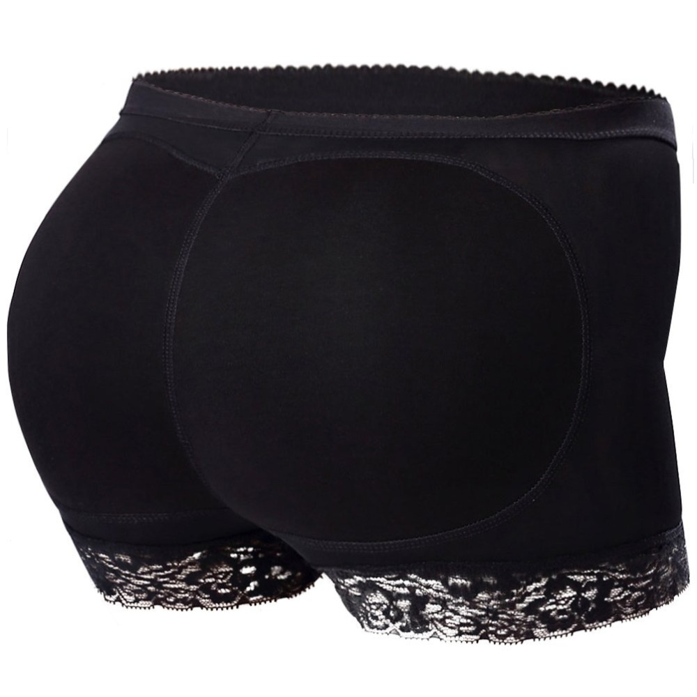 Shaper Women Boyshort Padded Panties Mesh Shapewear Butt Enhancer Seamless Push Up Buttock