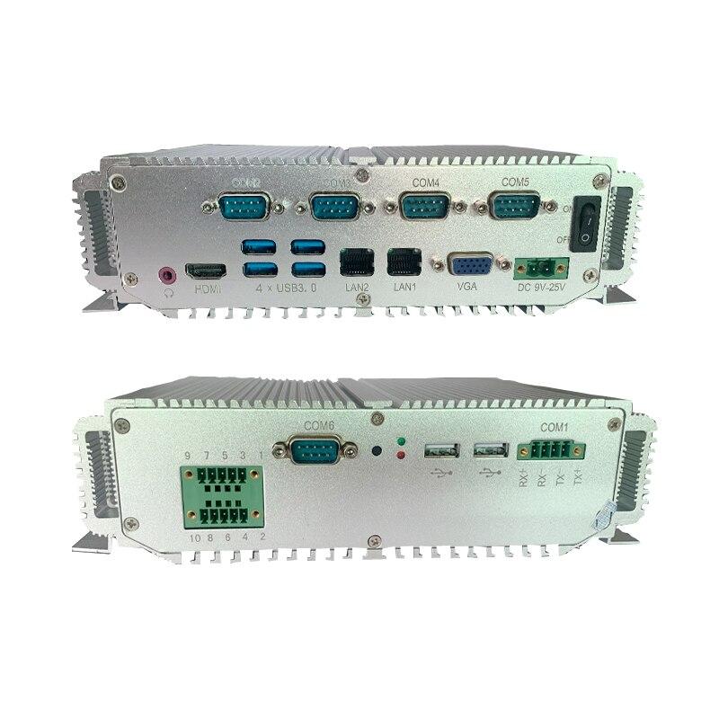 Intel 7th Generation I5-7300U Industrial Computer Barebone System Usb3.0 Support 16gb Ram Mini Gaming PC For Win 10 Mini Pc