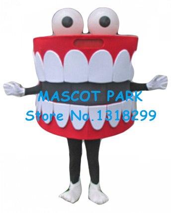 Mascotte dents mascotte costume offre spéciale dessin animé bouche dent santé dentaire thème anime cosplay costume carnaval déguisements kits