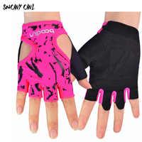 Half Finger Fitness Workout Running Gloves Sport Gloves Man&Women Outdoor Multi-function Glove Exercise Training Glove h29