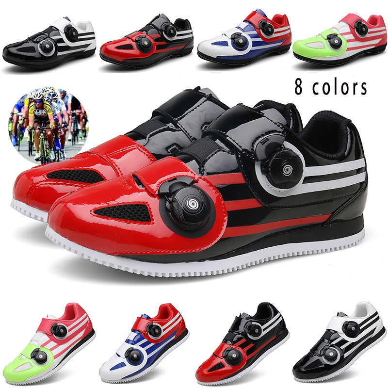 CUNGEL Professional Cycling Shoes Casual Bicycle Power Steering Shoes Breathable Mountain Bike Shoes road bike shoe