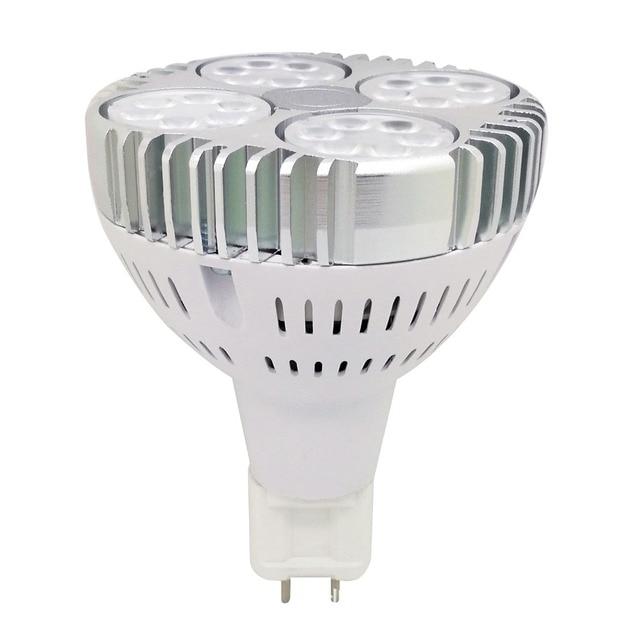 G12 led par30 مصباح 35 واط 130lm/ث G12 Par30 الأضواء استبدال 70 واط معدن هاليد مصباح AC85 265V