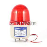 工業用dc 24ボルトミニ赤led点滅警告ライト電球表示灯ラン