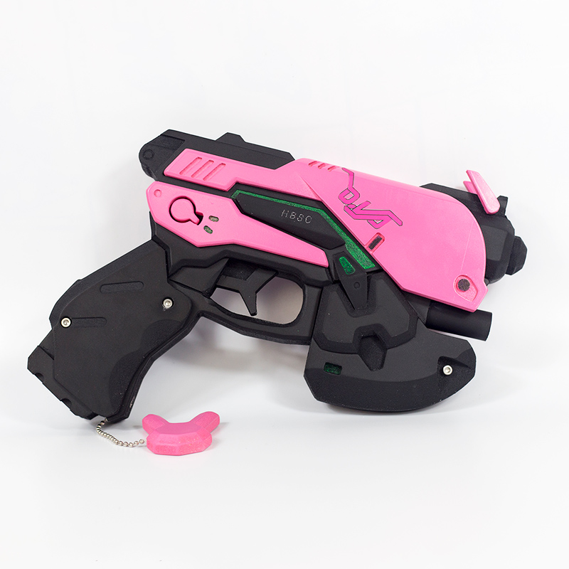 Costume Props Novelty & Special Use D.va Gun And Headset For Cosplay Pvc Pink D Va Gun Dva Headset Dva Earphone For Exhibition