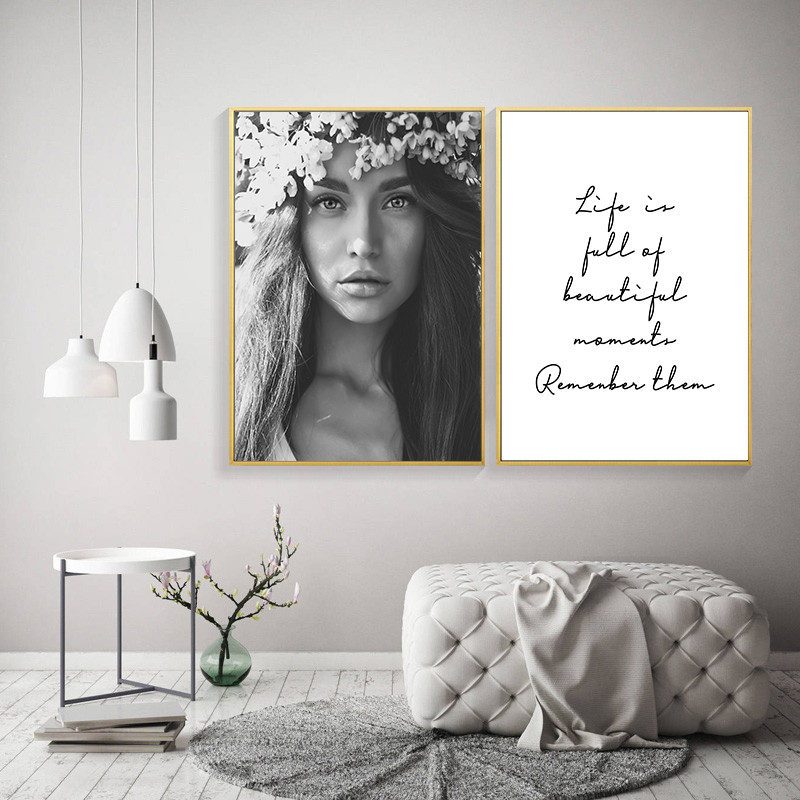 flower fairy woman wall image artwork print poster life quote print artwork wall dwelling decor HD2539 Portray & Calligraphy, Low-cost Portray & Calligraphy, flower fairy woman wall image artwork...