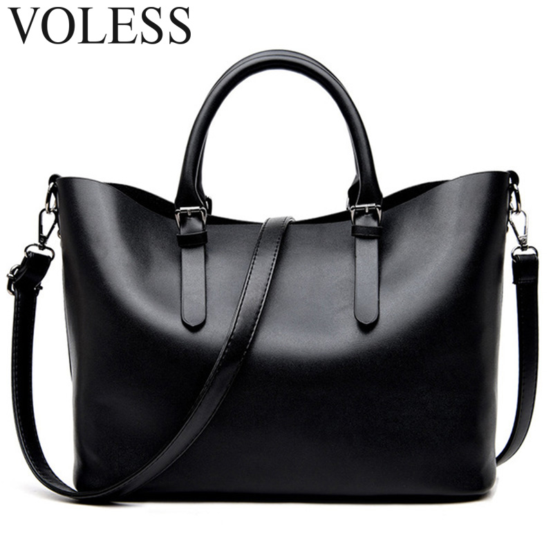 Fashion Hobos Women Bags Ladies Brand PU Leather Handbags large capacity Casual Totes Bag Shoulder Shopping Bags For Woman