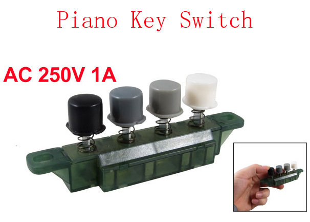 Home Appliances Home Appliance Parts Ac 250v 1a Hood Four Way Press Button Green Piano Key Switch For Electric Fan 5pcs 2019 Latest Style Online Sale 50%