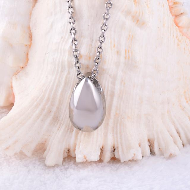 Water Drop Memorial Necklace