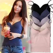 Cotton camisoles with built in bra online shopping-the world ...