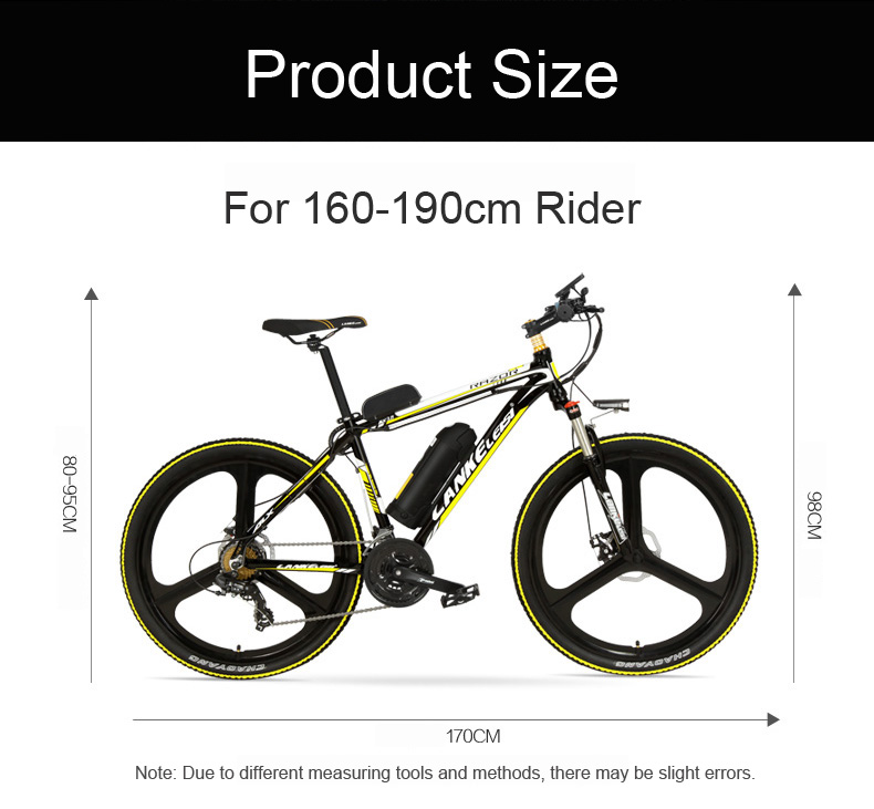 HTB1QMlEePgy uJjSZPxq6ynNpXaS - MX3.eight Elite 26 Inch 5 Grade Help 48V 10Ah Sturdy Battery Electrical Mountain Bike,with 3.5 Inches Huge Bicycle Pc, 7 Velocity