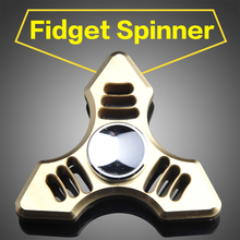 2017 New Fidgets Tri-Spinner Spinner Toy American Hot Sale  Fidget  Hand Spinner For Autism and ADHD Increase Focus Keep