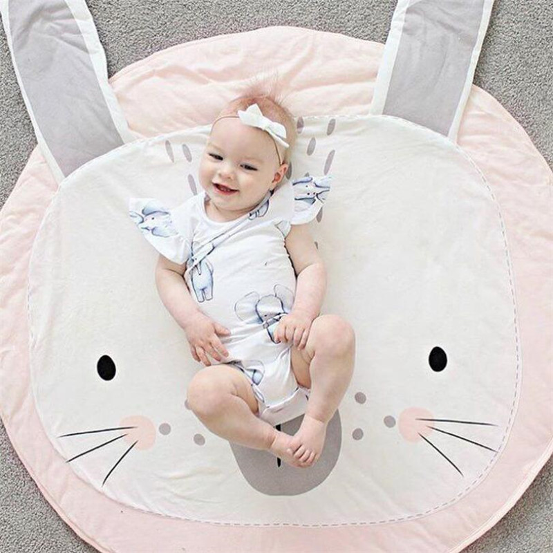 HTB1QMlSqb1YBuNjSszeq6yblFXaJ Baby play Mats Animal climbing carpet infant Crawling Blanket Round Carpet Rug Toys Mat For Children Room Decor Photo Props