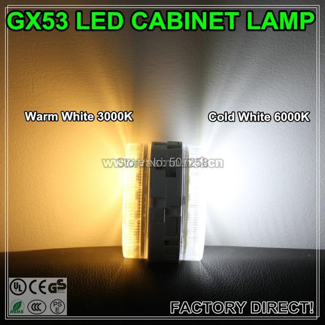 4pcs/lot free shipping GX53 LED kitch light bulb, under cabinet lamp, 30pcs SMD5050,220v, 6 watt  (201321).